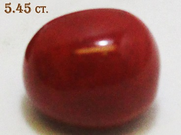 Red Coral 5.45ct
